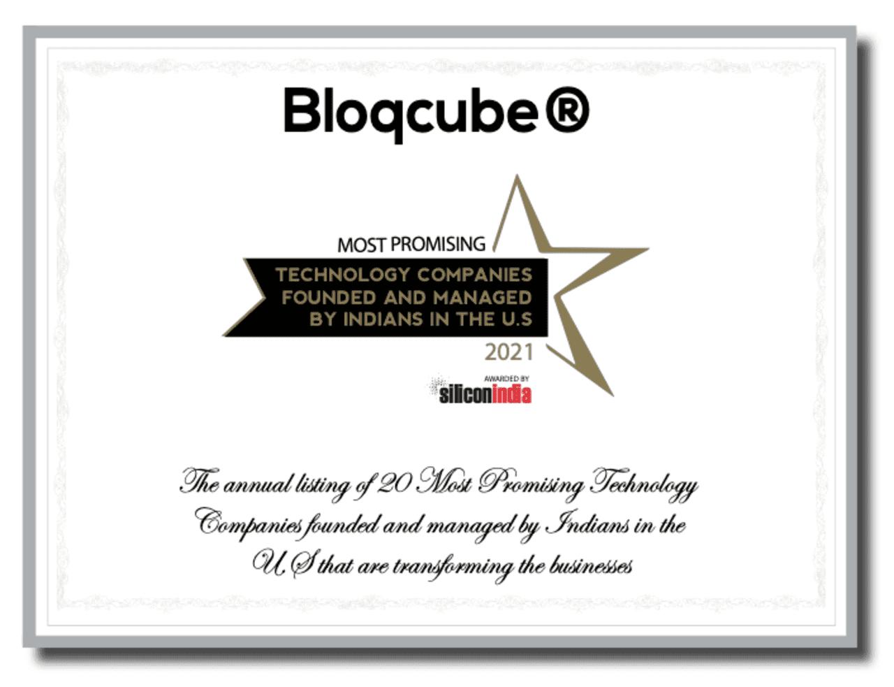 Bloqcube® Facilitating Decentralized Clinical Trials via Blockchain Technology